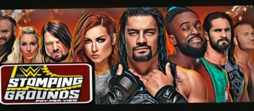 WWE has announced boring matches for Stomping Grounds PPV. [Image Courtesy: YouTube/WWE]