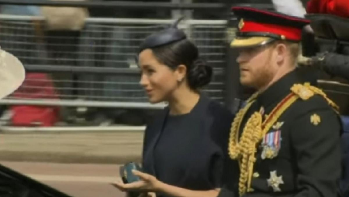 Meghan Markle attends official birthday of Queen Elizabeth II and