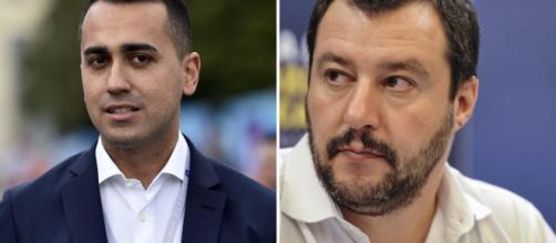 Roma, striscione su Salvini e Di Maio 'bloccato' - foto - tpi.it
