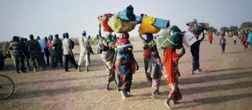 Certains déplacés de crises © Google