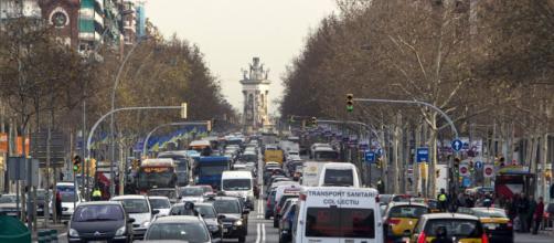 Episodio de alta contaminación atmosférica en Cataluña