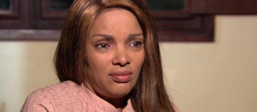 Flordelis foi entrevistada pela Globo e falou sobre a morte do marido. Foto: Reprodução/ TV Globo