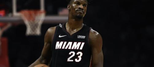 Jimmy Butler is coming to the Miami Heat. (Image Credit: VNGDSN / Jersey Swap (Photoshopped)