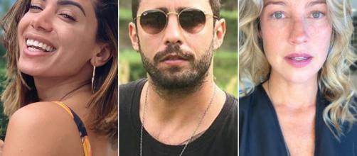 Anitta, Pedro Scooby e Piovani estão causando polêmicas. (Arquivo Blasting News)