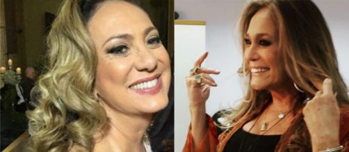 As atrizes, Eliane Giardini e Susana Vieira em plena forma. (Reprodução/Instagram/@elianegiardinioficial/@susanavieiraoficial)