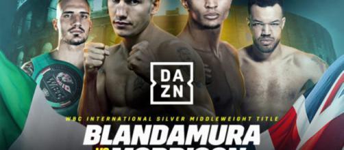 Blandamura vs Morrison, giovedì 11 luglio in diretta su DAZN