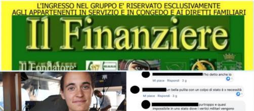Il gruppo Fb Il Finanziere minaccia Carola Rackete