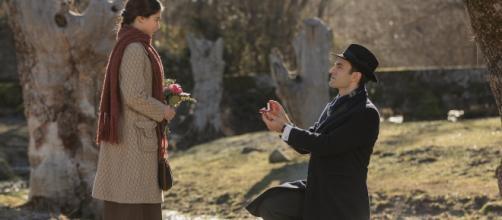 Il Segreto, trame: Alvaro chiede alla Laguna di diventare sua moglie