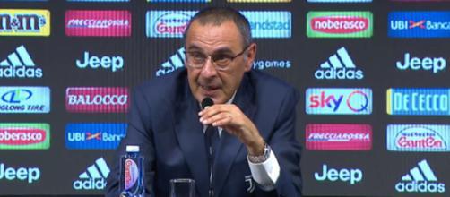 Juventus, primo allenamento per Sarri