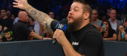 Kevin Owens rants against Shane McMahon. [Image source: WWE/YouTube]