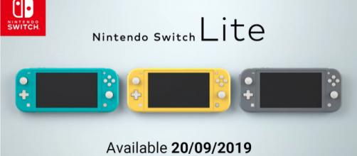 Nintendo Switch Lite announced [Image Credit: Nintendo - YouTube.com/user/NintendoUKofficial]