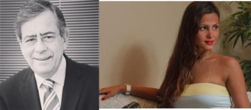 Paulo Henrique Amorim e Patrícia Araújo, que morreram em 2019. (Arquivo Blasting News)