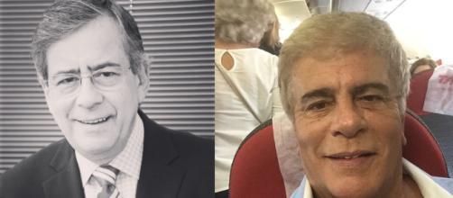 Paulo Henrique Amorim e Wagner Montes, que morreram em 2019. (Arquivo Blasting News/Reprodução/Instagram/@wagnermontes)