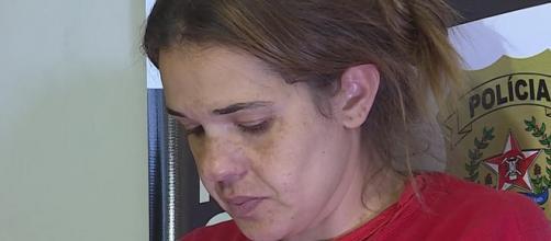 Suspeita disse que era agredida pelo marido. (Reprodução/TV Globo)