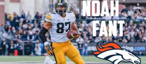 Broncos hope Noah Fant can be their version of Travis Kelce [Image via MileHighlights/YouTube]