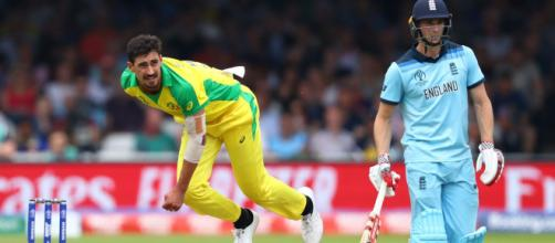 England vs Australia, Cricket World Cup 2019 semi-final (image via ICC/Twitter)