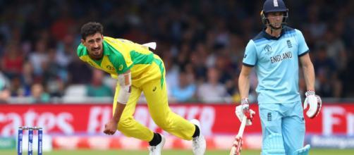 England vs Australia, Cricket World Cup 2019 semi-final (image via ICC/Twitter)