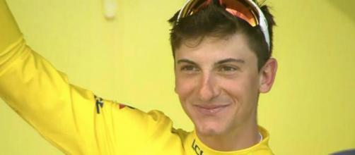 Giulio Ciccone è maglia gialla al Tour de France
