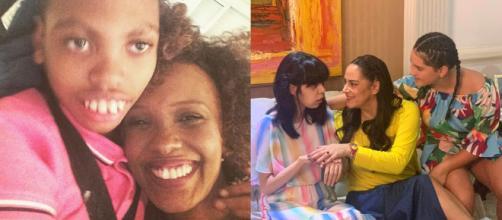 Silvia Abravanel e Isabel Fillardis são Mães de crianças especiais. (Reprodução/Instagram/@fillardis/@silviaabravanel)