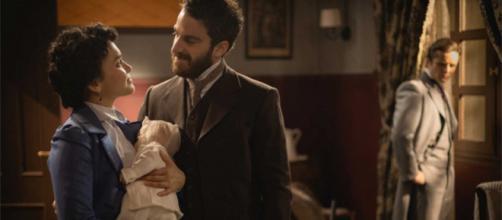 Una Vita, trame: Diego e Blanca ritrovano il figlio rapito da Ursula