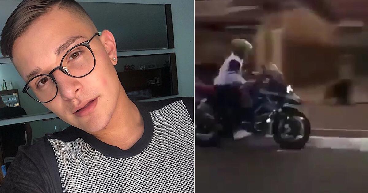 Mc Gui Cai De Moto Em Sp E Video Mostra Ele Se Levantando Apos Acidente Mc gui investigado por crimes + naldo se ferra em blitz + nego do borel processado. mc gui cai de moto em sp e video