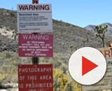 Nearly 400,000 Facebook users have petitioned to storm Area 51 in two months. [Image source: CNN / YouTube screencap]