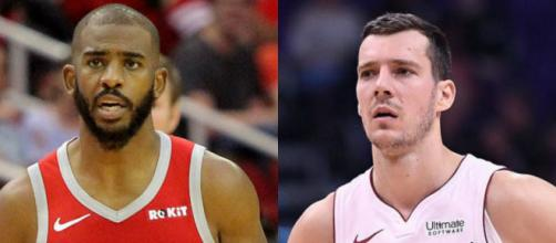 Chris Paul and Goran Dragic could be involved in blockbuster trade – image credit: Smashdown Sports/Flickr