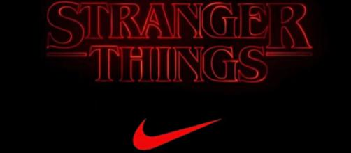 Netflix's acclaimed hit, 'Stranger Things,' gets huge plug from Nike's newest release. [Image Source: Sneaker Huddle / YouTube]