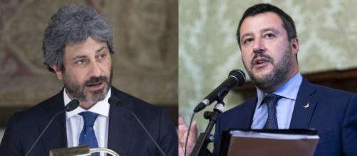 Salvini attacca Fico, l'altro replica: Ma sa come funziona la Camera?