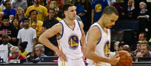 Stephen Curry and Klay Thompson are one of the few top duos that have been together for some time. [Image Credit: Jayson Gold/Flickr]