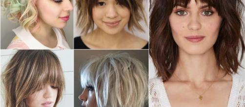Tagli di capelli: caschetto sfilato nell'estate 2019