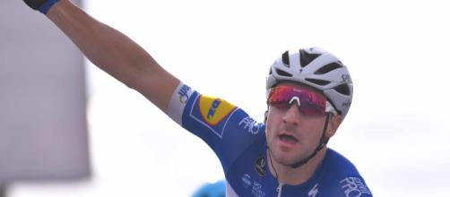Elia Viviani è stato condizionato da una foratura nella settima tappa del Tour de France