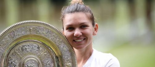 Halep ganó su primer Grand Slam en Wimbledon. www.infobae.com