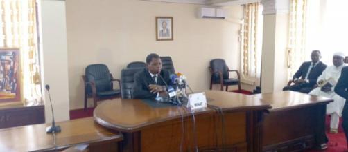 Le Ministre de l'Administration Territoriale du Cameroun Paul Atanga Nji (c) Samel Bondjock