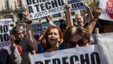 Manifestaciones en Madrid se plantan contra las subidas del alquiler de Fidere
