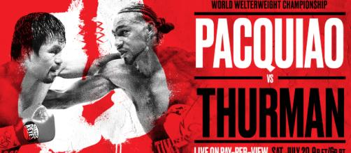 pacquiao vs thurman odds