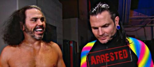 Jeff Hardy arrested for public intoxication. Image credit: WWE/Youtube
