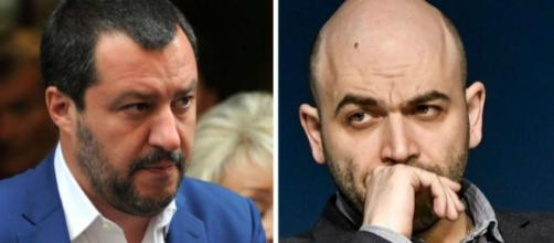 Russia-gate: Roberto Saviano accusa Matteo Salvini
