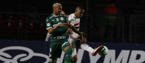 Times ficaram no 1 a 1. (Divulgação/ Rubens Chiri / São Paulo)