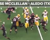 Jase McClellan is looking around [Image via MaxPreps/YouTube]