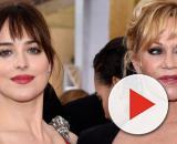 A atriz Dakota Johnson seguiu os passos da mãe Melanie Griffith. (Arquivo Blasting News)