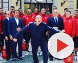 Il Monza a Villa Gernetto da Berlusconi