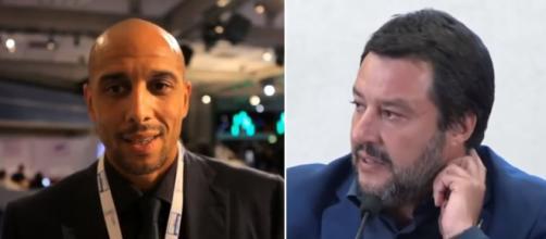 Carlton Myers sta con Salvini: 'Devi saperti integrare sennò torni da dove sei venuto'