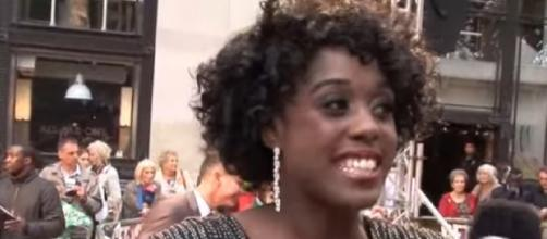 Lashana Lynch interview for iFILM London/ Fast Girls World Premiere. [Image source/iFL TV YouTube video]