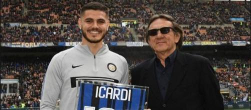 Mauro Icardi e Roberto Boninsegna tra i bomber più prolifici della storia dell'Inter