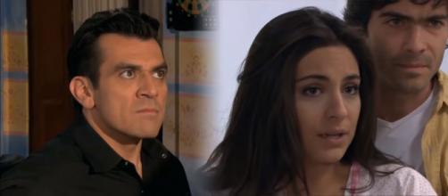 Rogério descobre que Ana Paula está grávida. (Reprodução/Televisa)