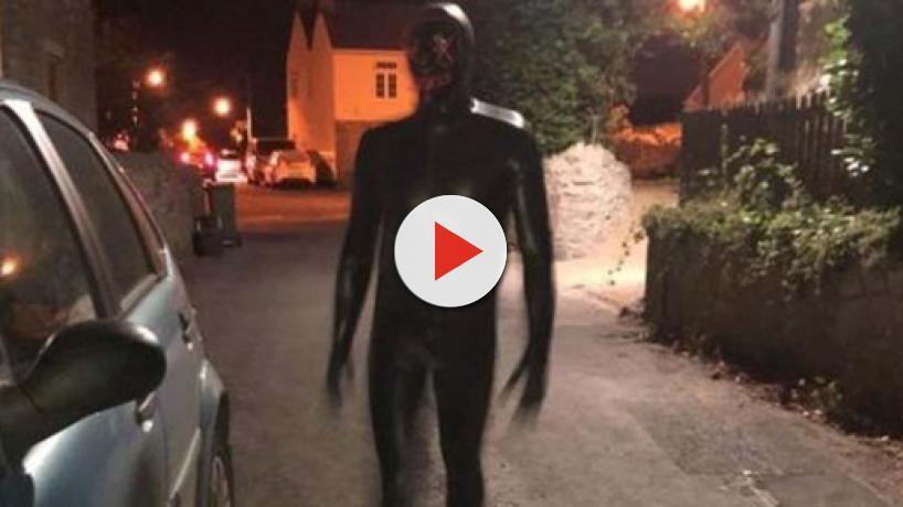 Man in black gimp suit terrorises Somerset villagers
