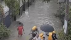 Flood fury in South Asian countries leaves more than 100 dead, millions displaced