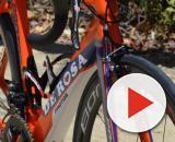 La bicicletta De Rosa della Nippo Fantini