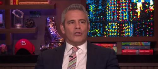 Andy Cohen's happy the RHOBH cast is a 'powerhouse.' Image credit - Watch What Happens Live with Andy Cohen / YouTube